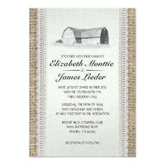 Cute Farm Wedding Invitations