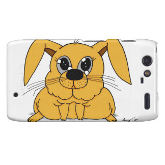 Cute Fat Bunny Droid RAZR Case