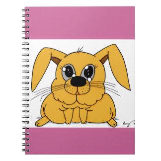Cute Fat Bunny Notebook