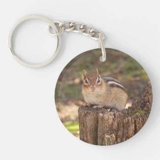 Cute Fat Chipmunk Keychain