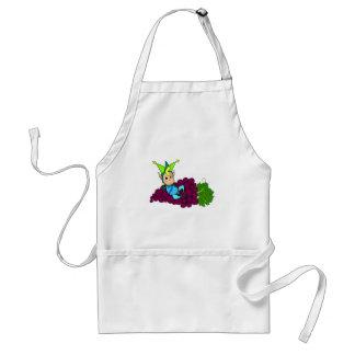 Cute fat goblin adult apron