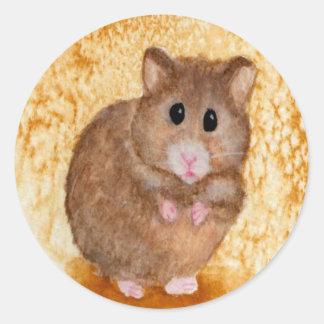 Cute Fat Hamster Stickers