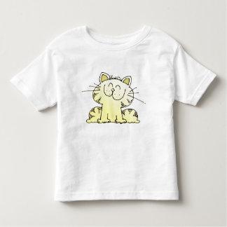 Cute Fat Kitten T Shirt   Cartoon Kitten T For Boy