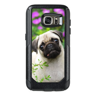 Cute Fawn Colored Pug Puppy Dog Commuter-Case OtterBox Samsung Galaxy S7 Case