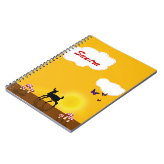 Cute Fawn Illustration - Notebook