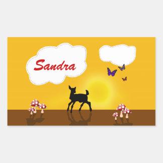 Cute Fawn Illustration - Sticker