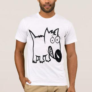 Cute feisty cartoon dog T-Shirt