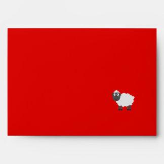 Cute female Sheep Envelope