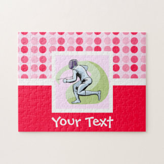 Cute Fencing Jigsaw Puzzles