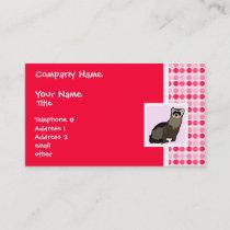 Cute Ferret Business Card