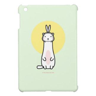 Cute Ferret in Bunny Costume iPad Mini Case