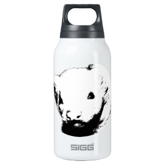 Cute Ferret Picture Insulated Water Bottle