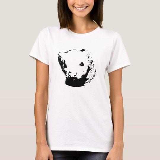 Cute Ferret Picture T-Shirt