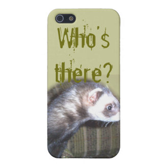 Cute Ferret Pictures and Sayings iPhone SE/5/5s Cover