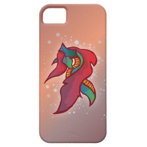 Cute Fire Dragon - iPhone 5 Case