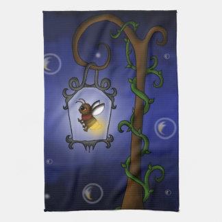 cute Firefly Hand Towels