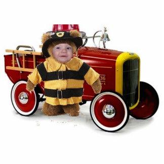 Cute Fireman Statuette