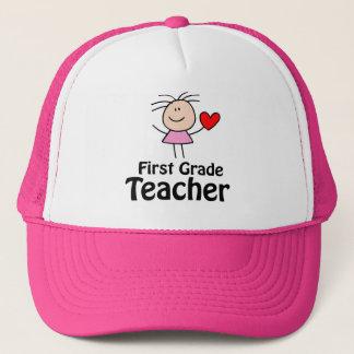 Cute First Grade Teacher Cap