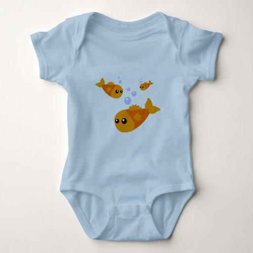 Cute Fish Baby Clothes Bodysuit Zazzle
