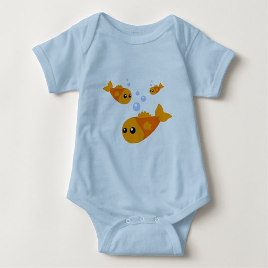Cute Fish Baby Clothes Baby Bodysuit