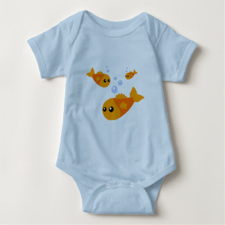Cute Fish Baby Clothes Infant Creeper