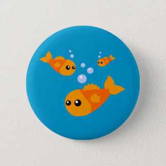 Cute Fish Button