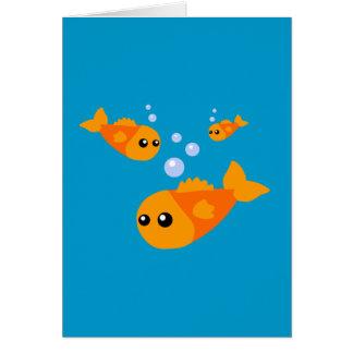 Cute Fish Greeting Card