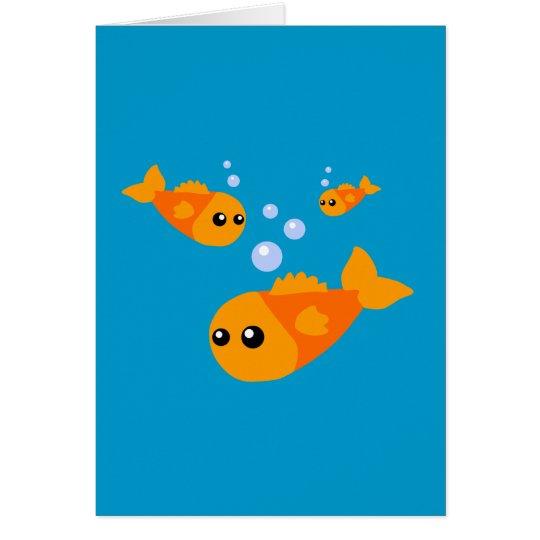 Cute Fish Card