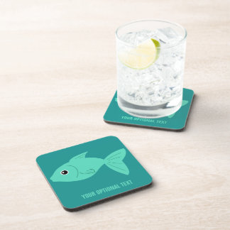 Cute Fish custom coasters