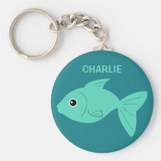 Cute Fish custom key chains