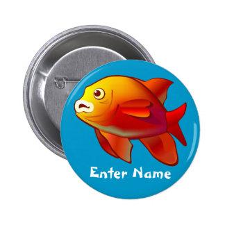 Cute Fish Customizable Cartoon Button