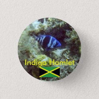 Cute Fish,  Indigo Hamlet, Jamaica Button