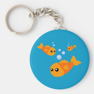 Cute Fish Keychain