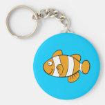 Cute Fish Keychain Keychain