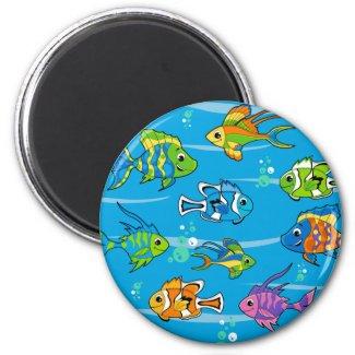 Cute Fish Magnet magnet