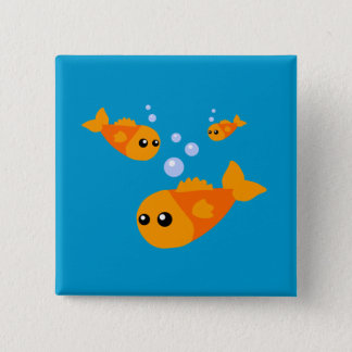 Cute Fish Pinback Button