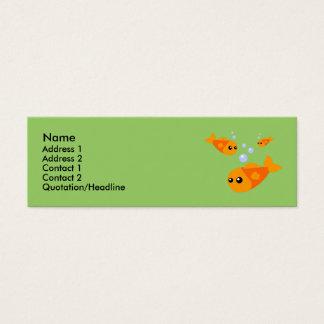 Cute Fish Profile Cards