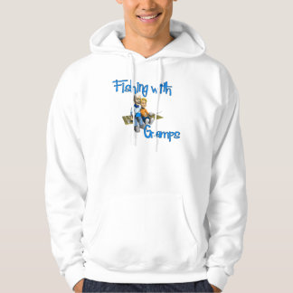 Cute Fishing with Gramps Hoody