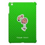 Cute Flamingo; Green Case For The iPad Mini