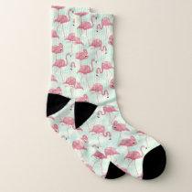 Cute Flamingo Pattern socks
