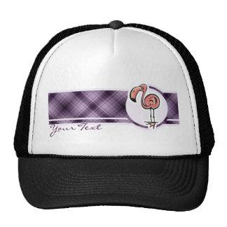 Cute Flamingo; Purple Trucker Hat