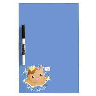 Cute Flapjack Octopus Dry-Erase Board