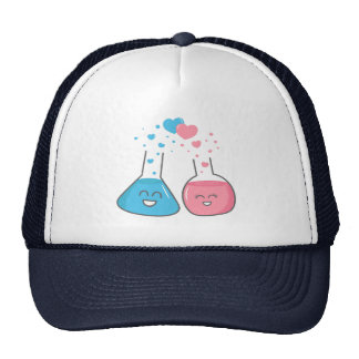 Cute flasks in love, we've got chemistry trucker hat