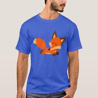 Cute Fleet Cartoon Fox T-Shirt