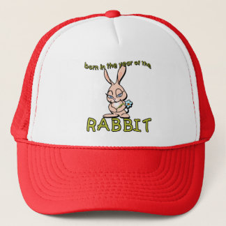 Cute & Flirty Born in the Year of the Rabbit Gifts Trucker Hat