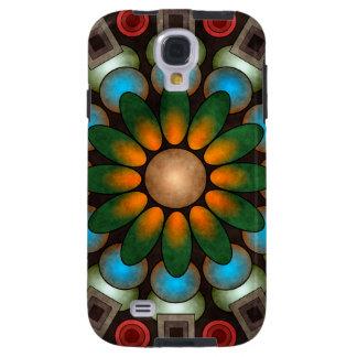 Cute Floral Abstract Vector Art Galaxy S4 Case