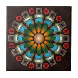 Cute Floral Abstract Vector Art Tile