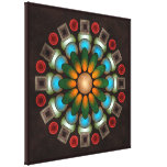 Cute Floral Abstract Vector Art Wrapped Canvas Pr Stretched Canvas Prints
