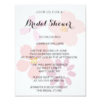 Cute Floral Bridal Shower Invitations
