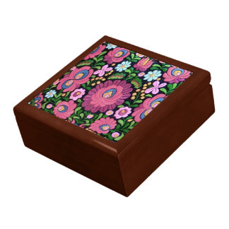 cute floral, cute flowers jewelry box
